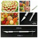 Pisau Ukir Dekorasi Buah Sayuran Kayu Lilin atau clay knife fruit carving (4)