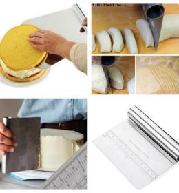 Scraper Kue Pemotong Adonan Roti Dan Menghias Kue Tart (1)
