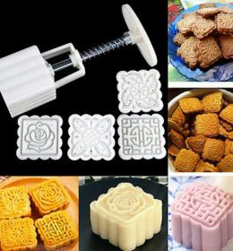 Alat cetakan kue kering dan kue bulan ini berfungai juga untuk mencetak kue satu, kue ku, biscuit, dan nastar. (2)