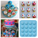 Cetakan Coklat Fondant Puding Karakter Doraemon (2)