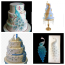 Cetakan Fondant & Coklat Burung Merak ini sangat bagus anda gunakan untuk menghias kue tart untuk wedding cake, atau perayaan yang bertemakan merak (2)