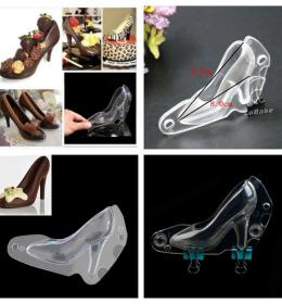 Cetakan coklat sepatu wanita ini juga dapat dijadikan cetakan fondant dalam menghias kue sehingga dekorasi kue semakin keren.