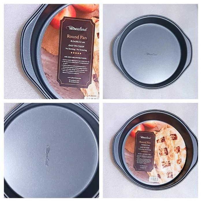 Loyang Kue Bentuk Bulat Anti Lengket Toko Peralatan Kue
