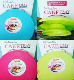 Meja Putar Penghias Kue berfungsi untuk dekorasi cake atau kue tart. Terbuat dari plastik. Simpel & Murah! (1)