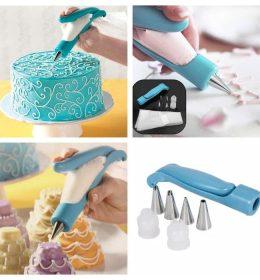 Paket Dekorasi Kue Dengan Spuit Pen Terbaru sehingga mudah digunakan.