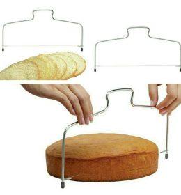 Cake slicer alat pemotong kue digunakan untuk memotong cake, Praktis dan mudah digunakan.