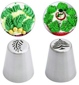 Dua Buah Spuit Rusia Model Pohon Natal Dan Daun Bunga ini merupakan produk asli, produk impor tanpa sambungan.