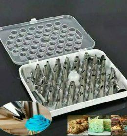 Spuit Import Lengkap Isi 52 Pcs Untuk Menghias Kue.