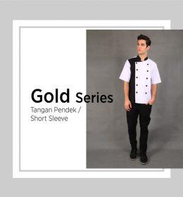Baju Koki Untuk Seragam Chef Lengan Pendek. (3)
