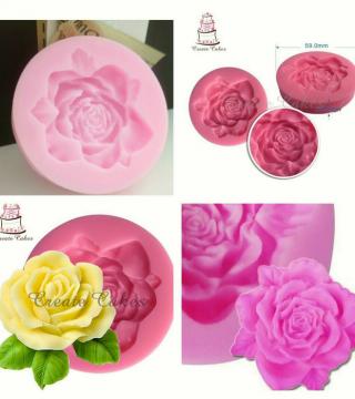 Cetakan Fondant Bunga Mawar Untuk Menghias Kue Tart Toko