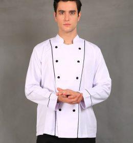 Jual Baju Chef Pria / Baju Koki Wanita Lengan Panjang.