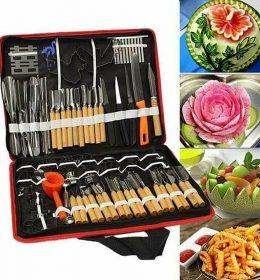 Paket Super Lengkap Alat Ukir Buah Dan Sayur. (1)
